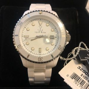 Toy Watch White/Silver